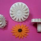 Gerbera Sonnenblumen 3 Set Austecher SML